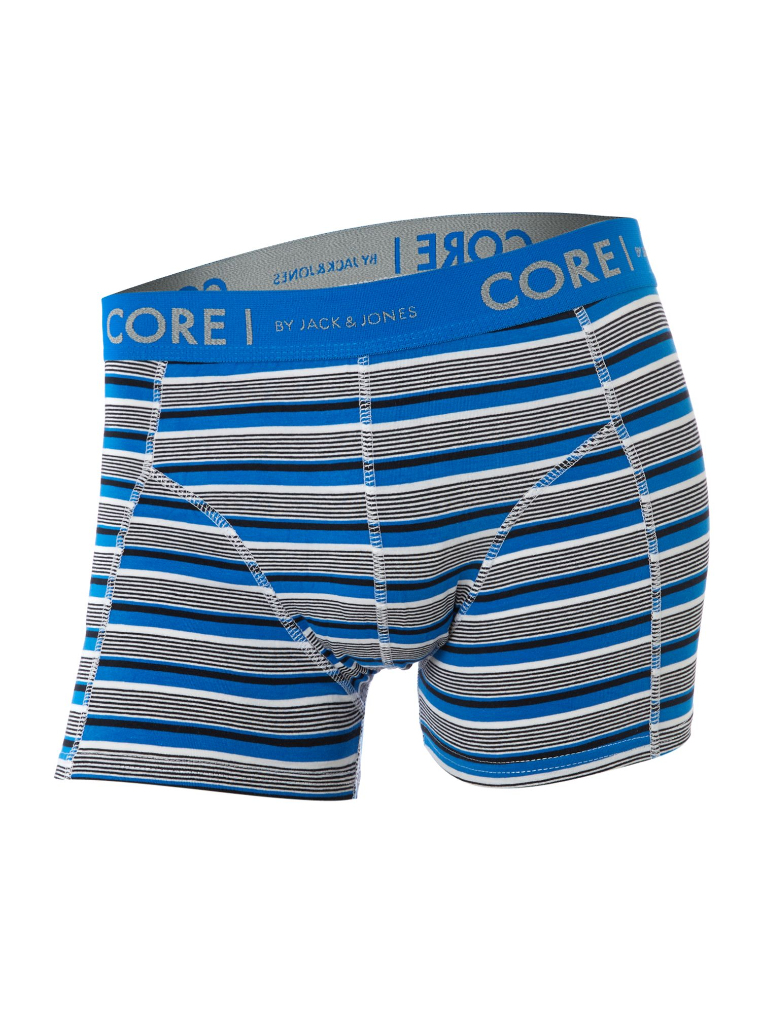 Archie 4 pack diamond and stripe trunks
