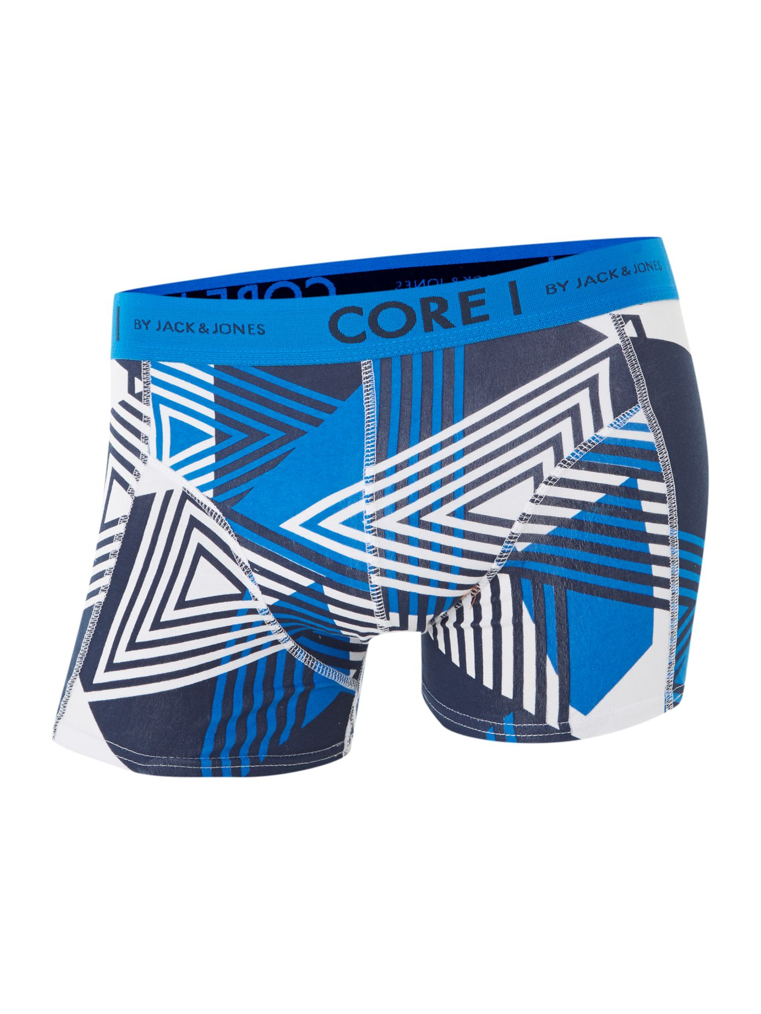 Byron 4 pack geo print trunks