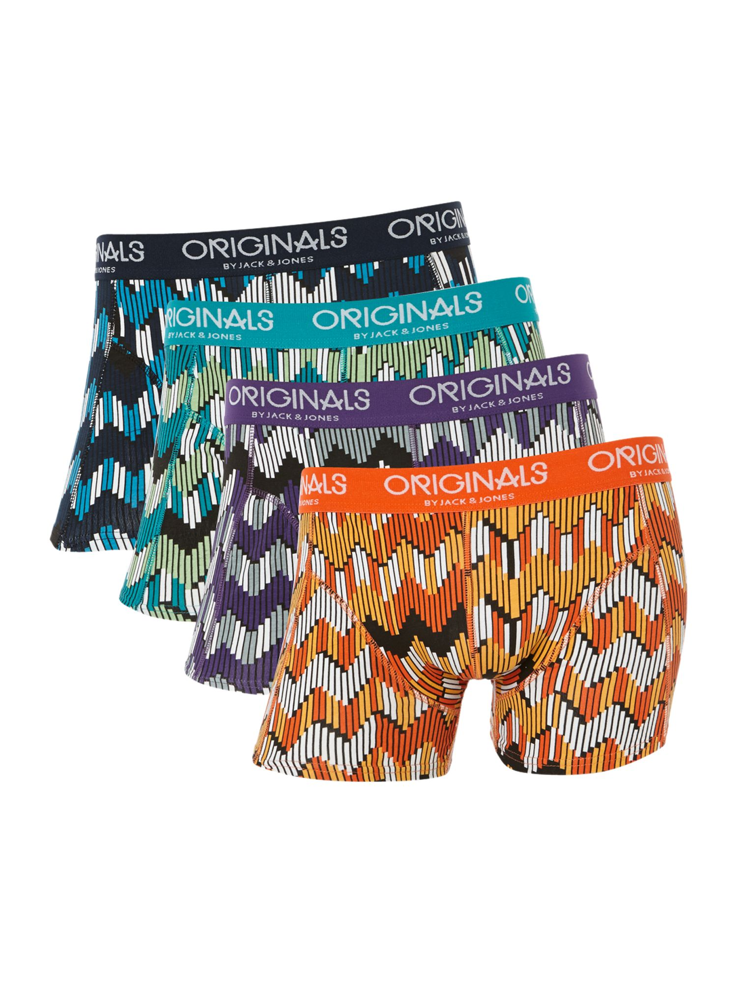 Maze 4 pack zigzag trunks
