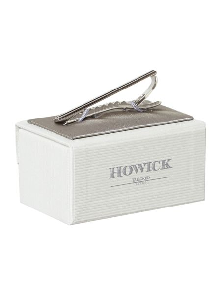 Howick Tailored Burnished tie clip