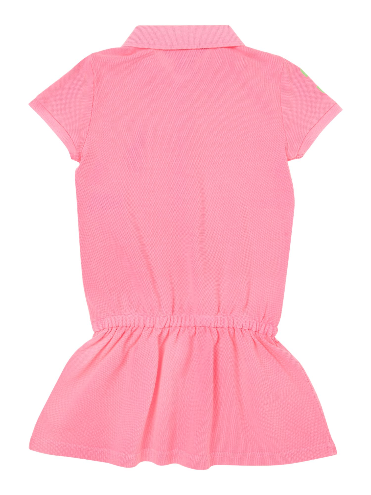 Girls big pony polo dress