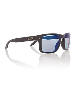 Oo9102 holbrook male black square sunglasses