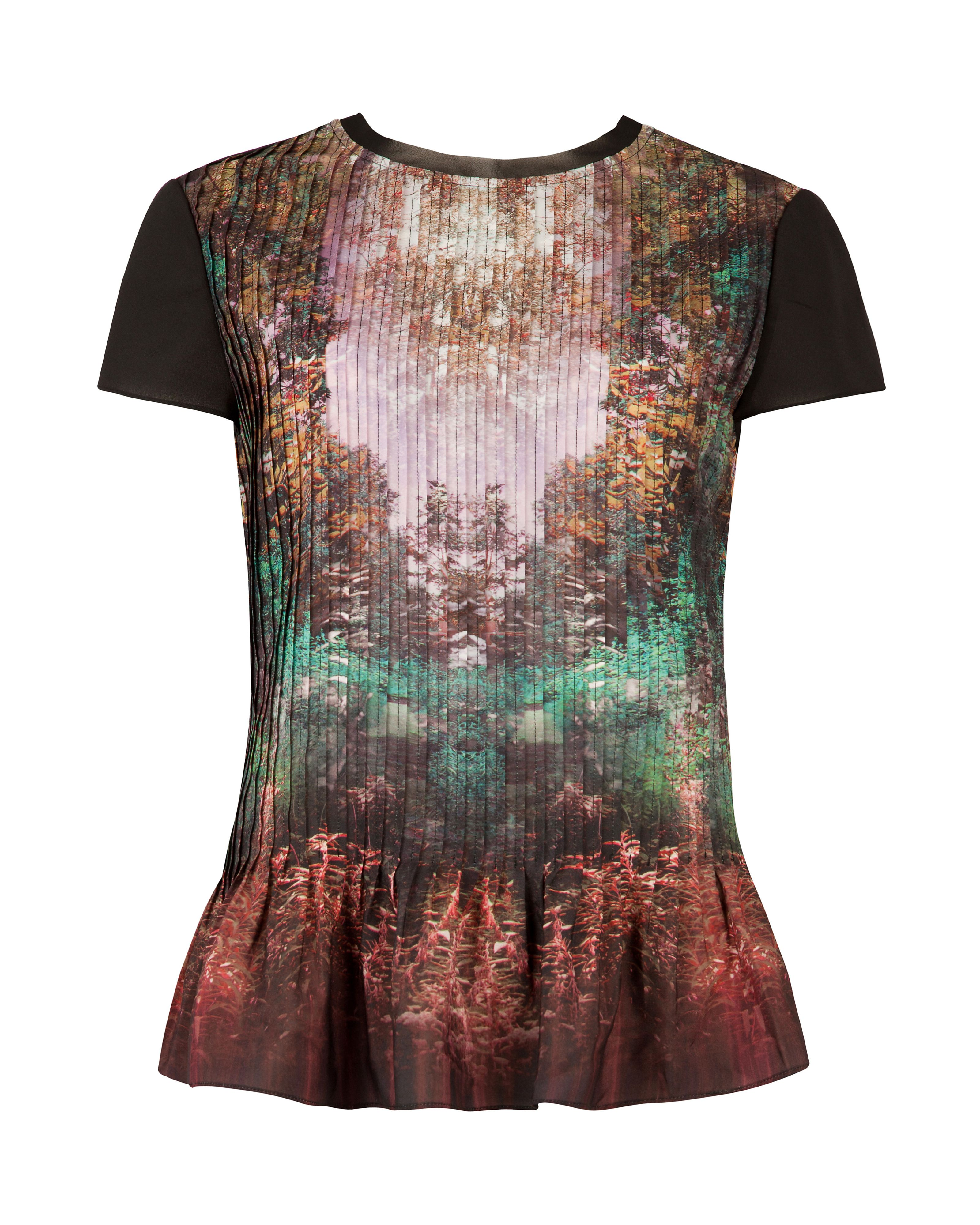 Esmy Magical mist print top