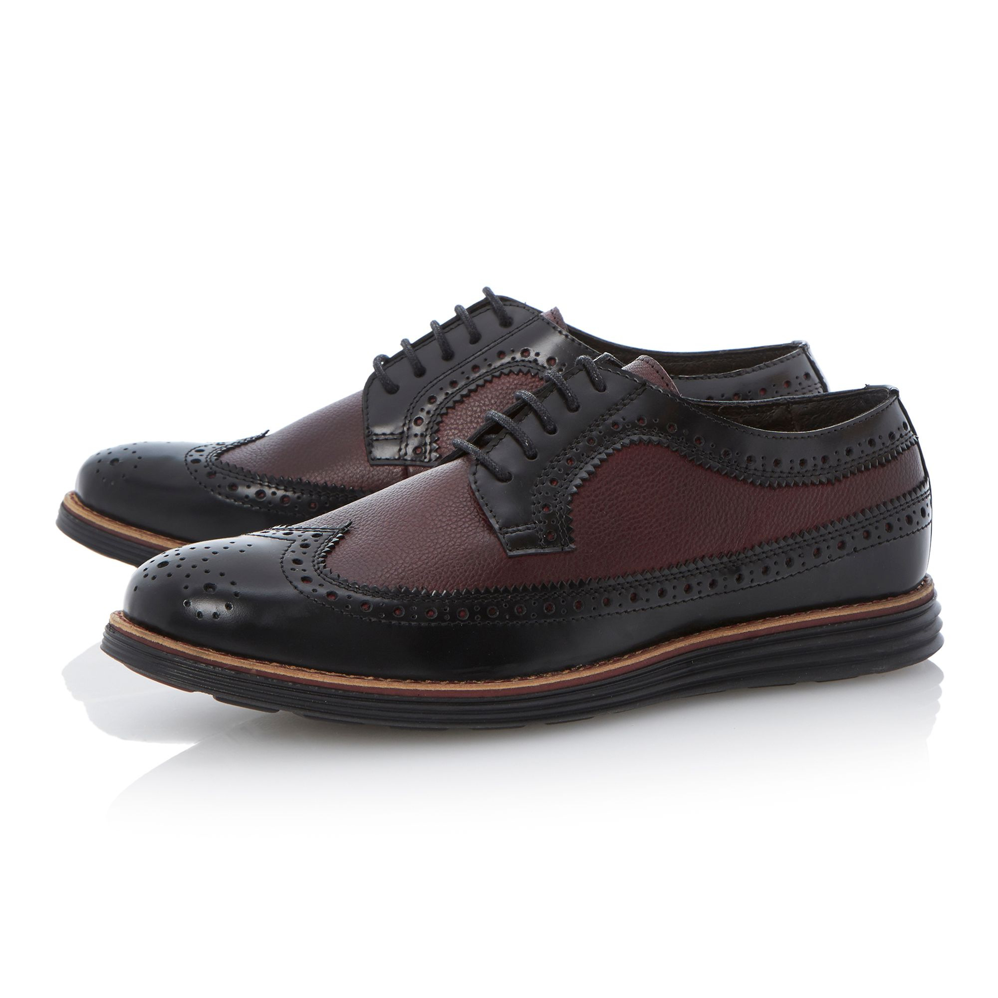 Bayswaters two tone sporty brogues