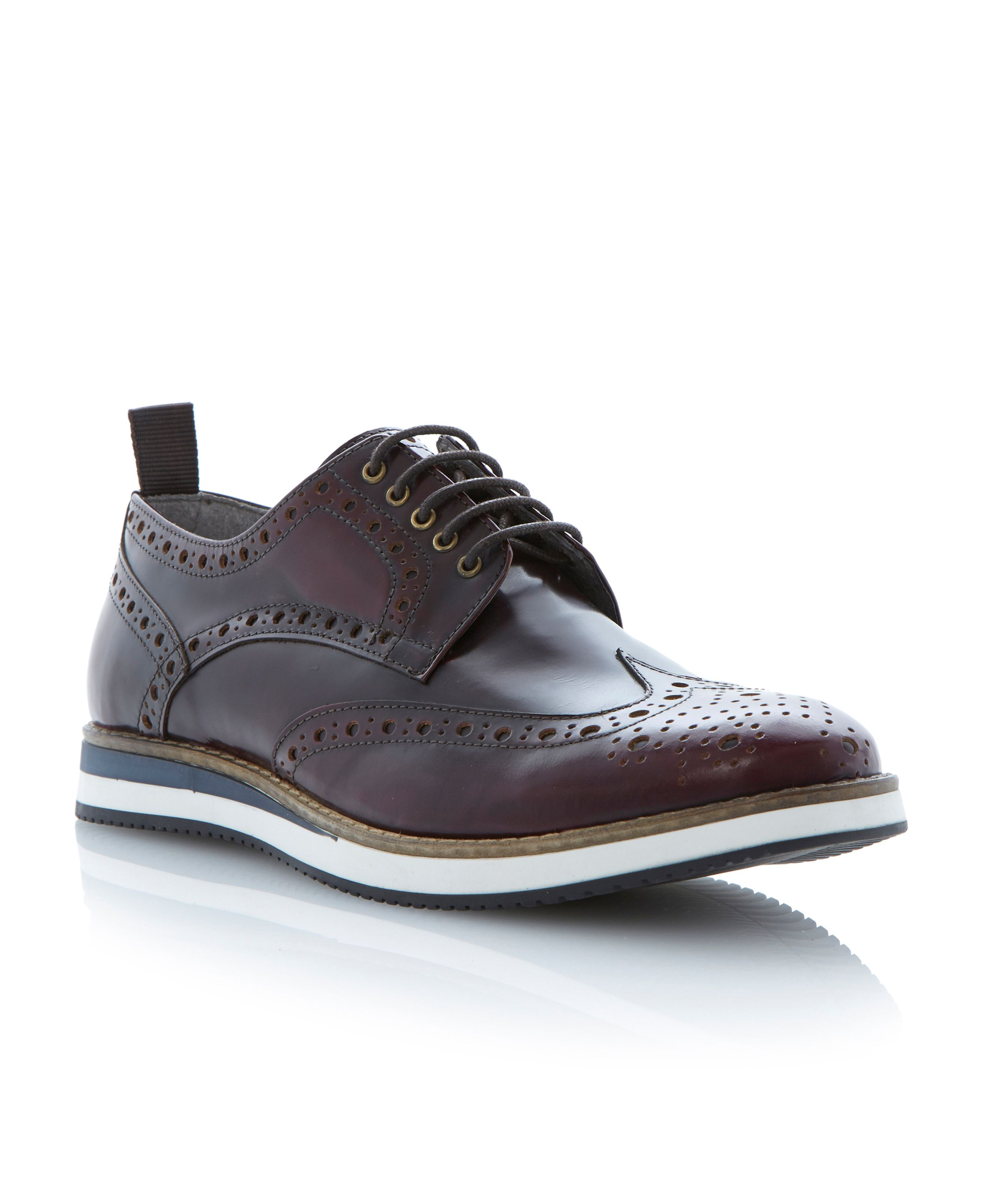 Brotherhood polido brogue on sporty shoe
