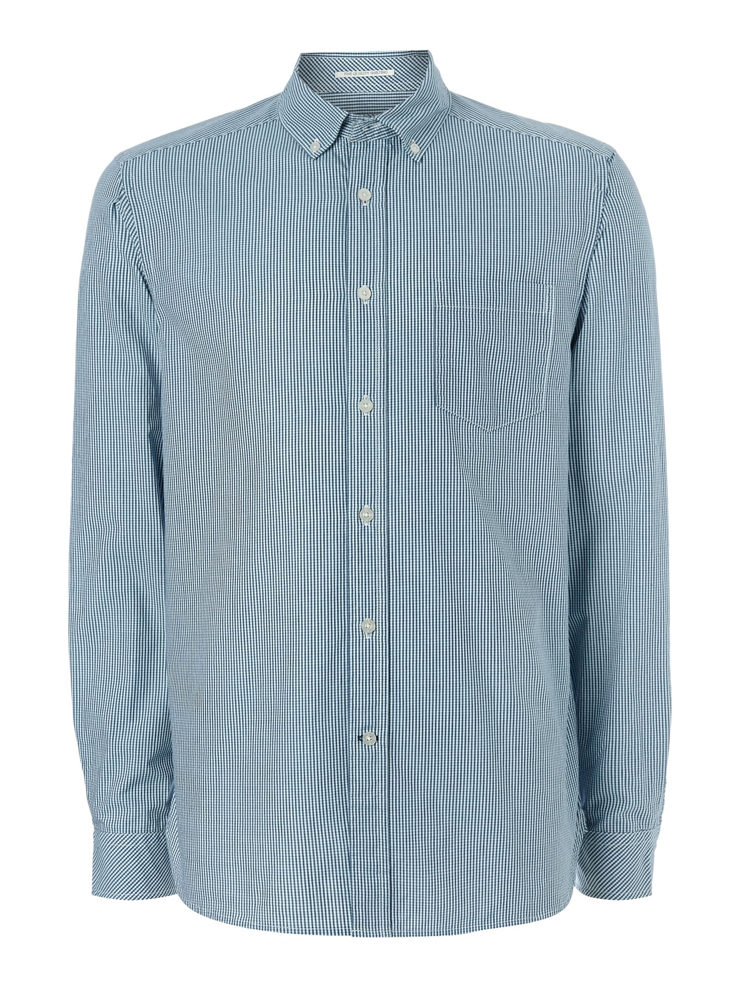 seattle gingham long sleeve shirt