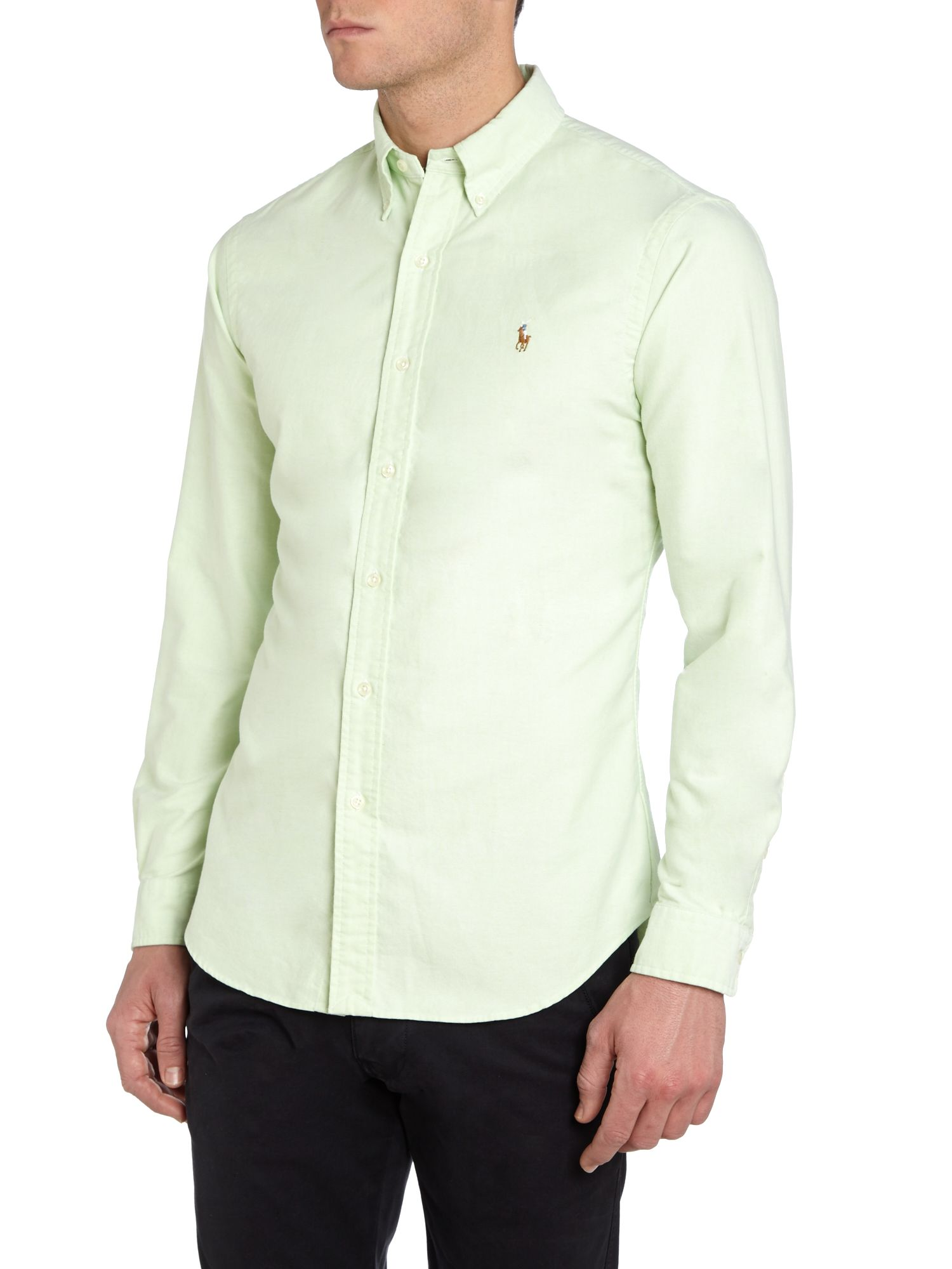Classic slim fit long sleeve shirt
