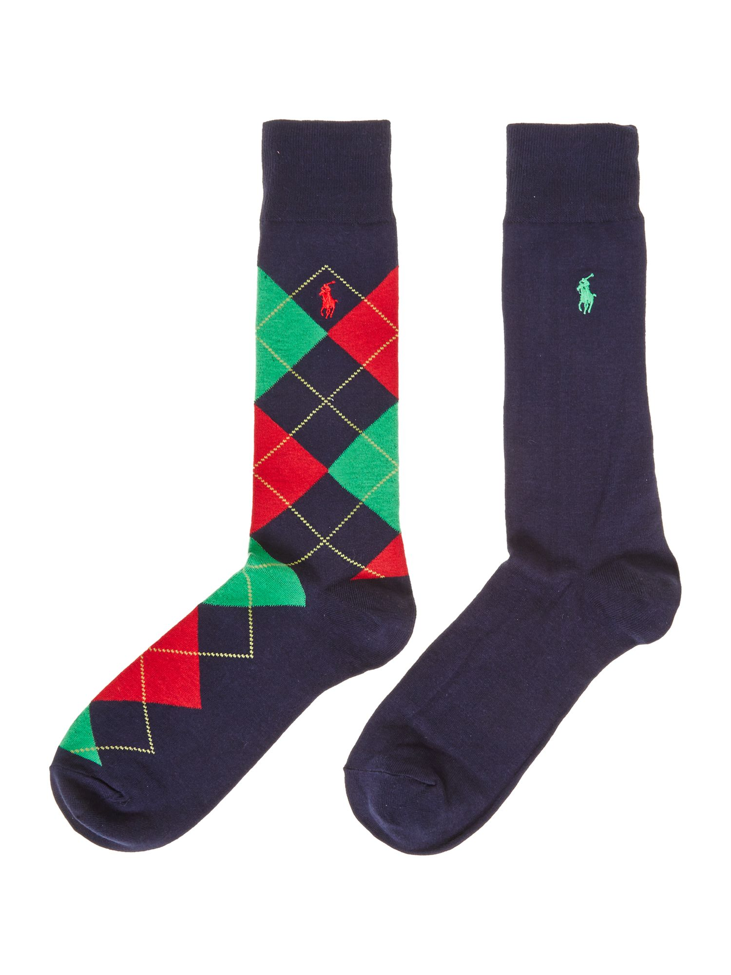 2 pack argyle sock