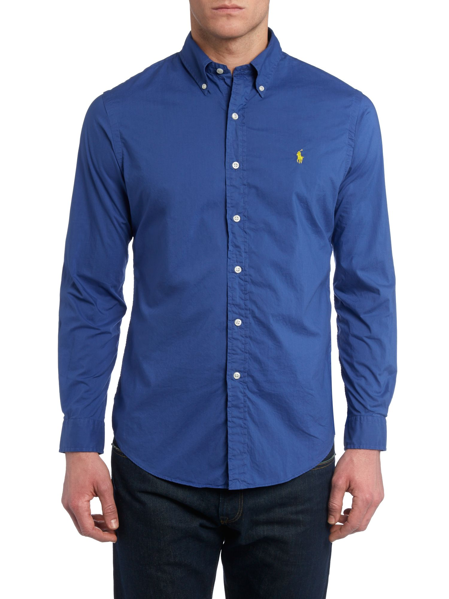 Classic long sleeve custom fit shirt