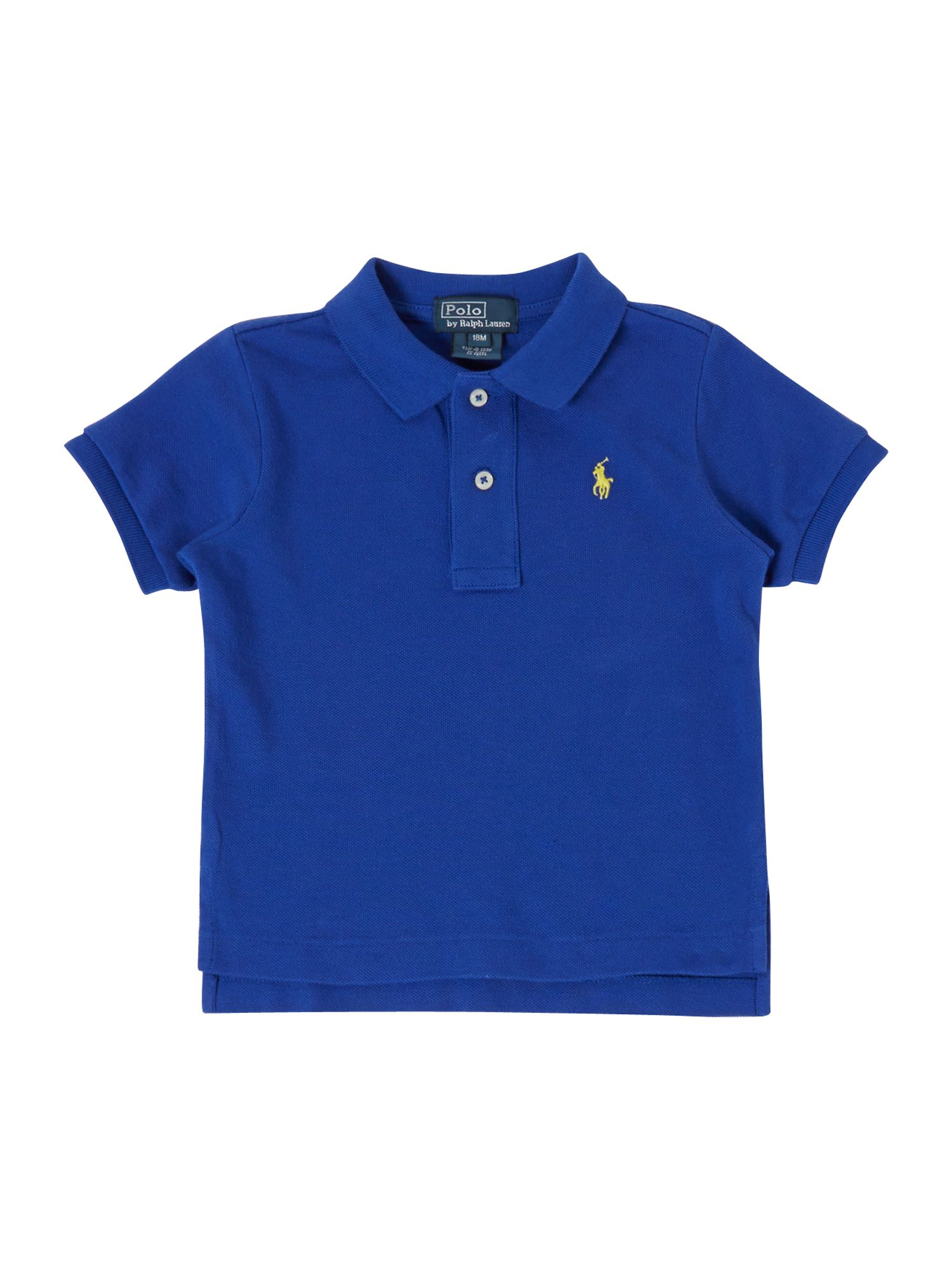 Boy`s small logo polo