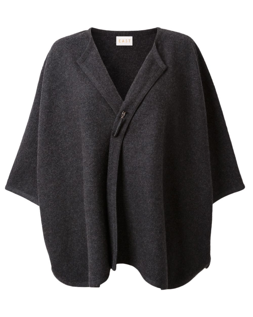 Boiled wool cape