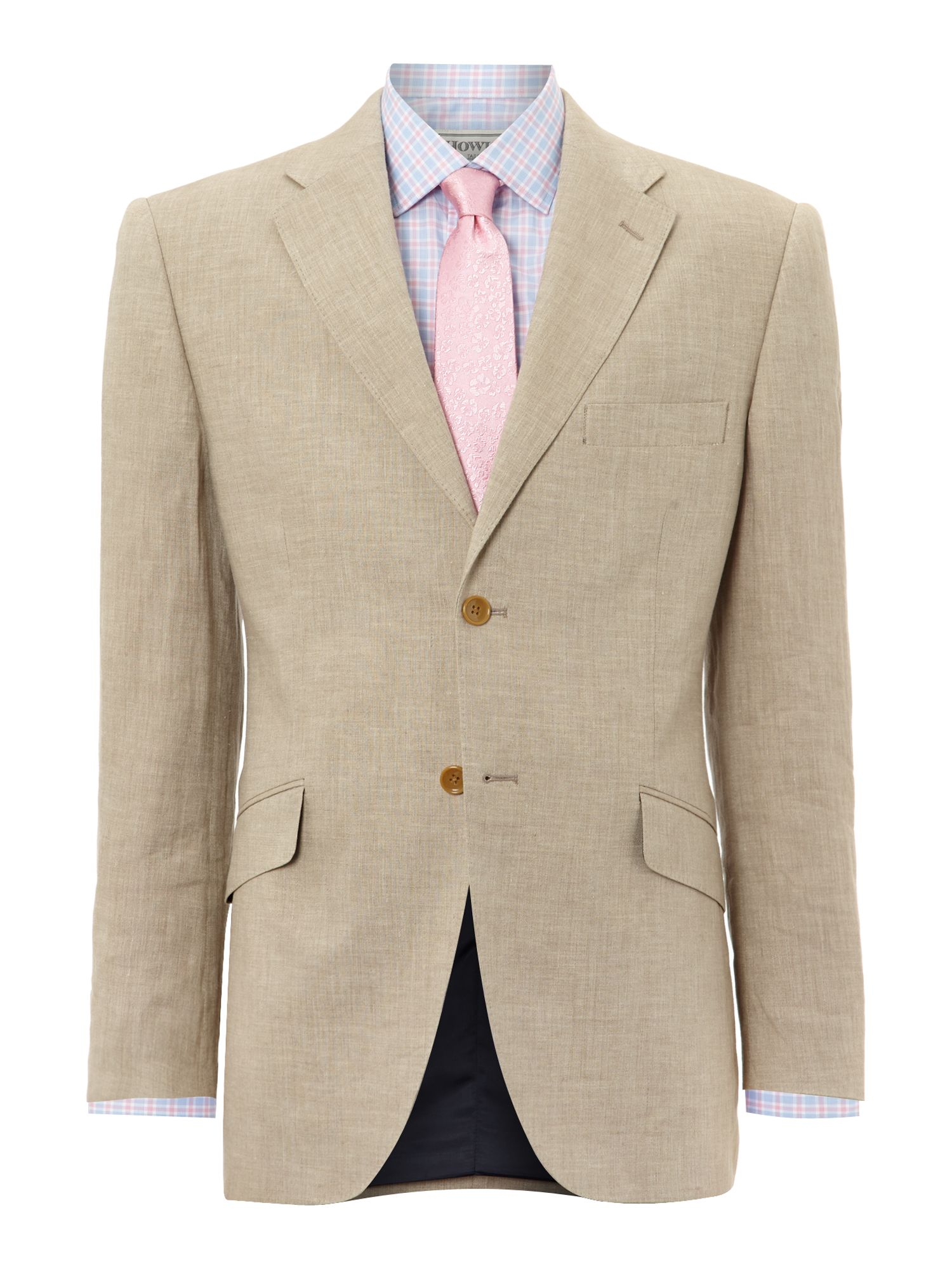 Mens Howick Tailored Tyler linen suit jacket $99.00 AT vintagedancer.com