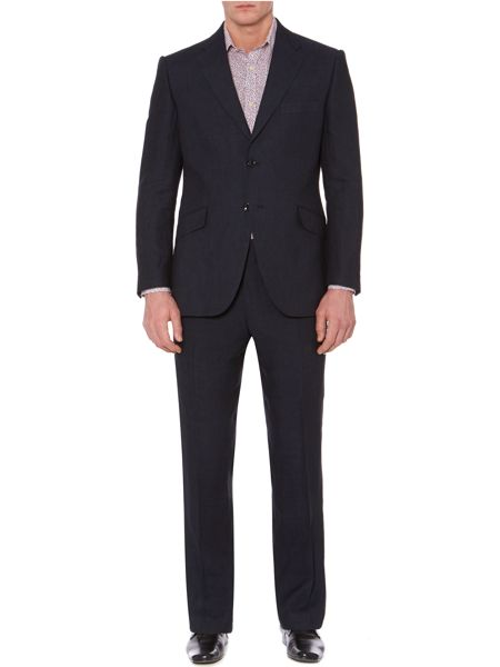 Howick Tailored Tyler linen suit trousers