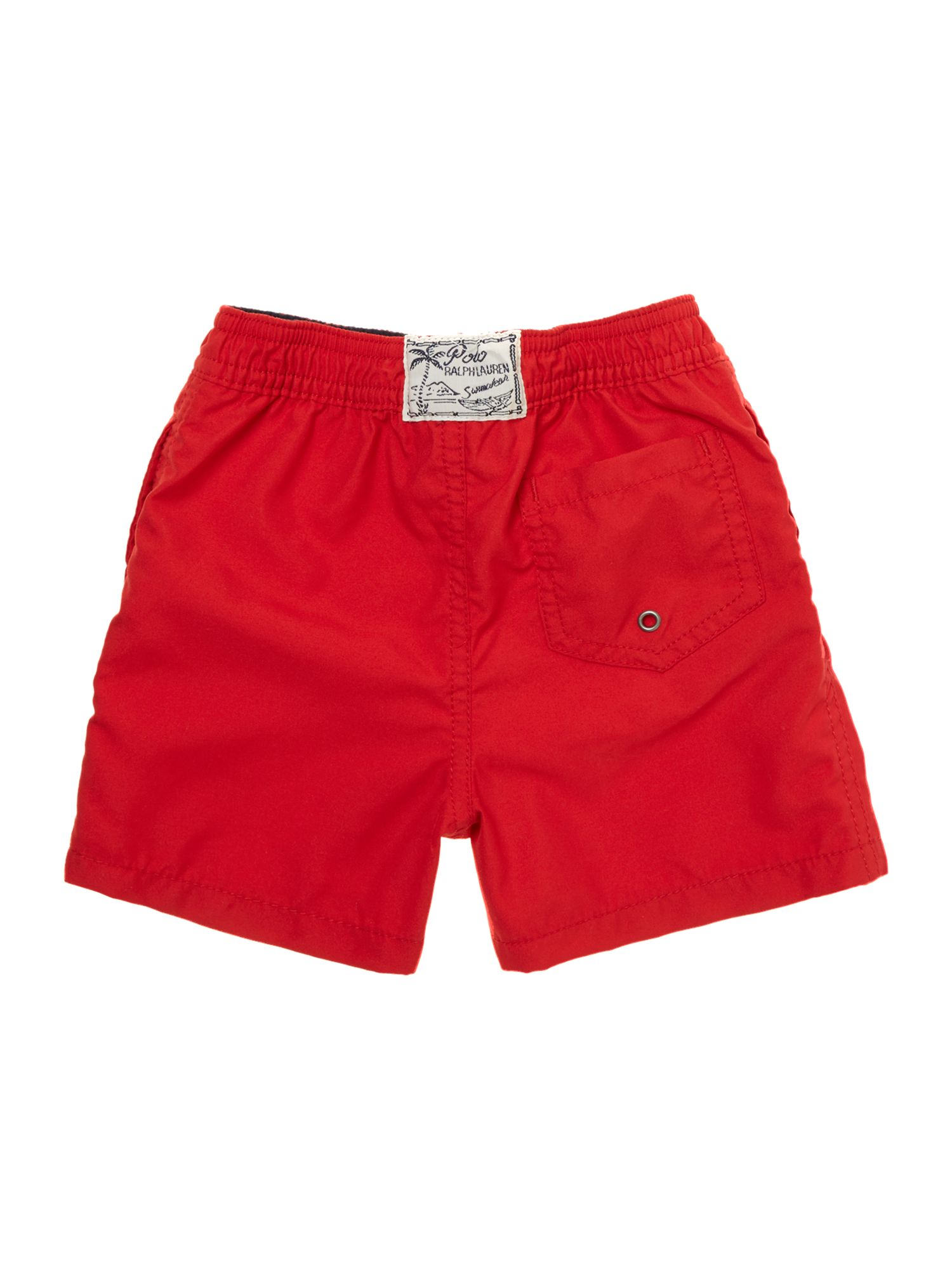 Boy`s small logo swim shorts