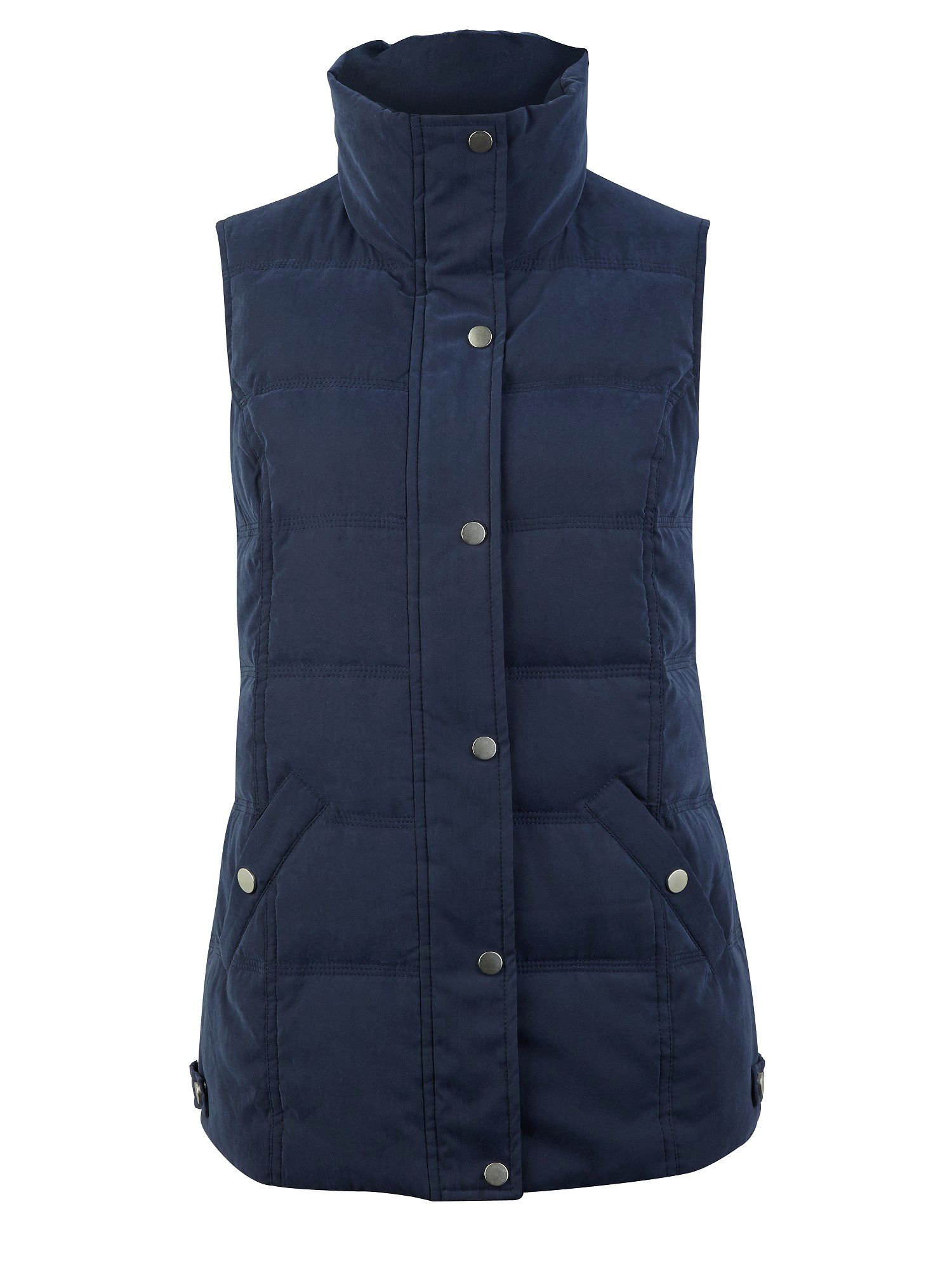 Heavy quilted gilet