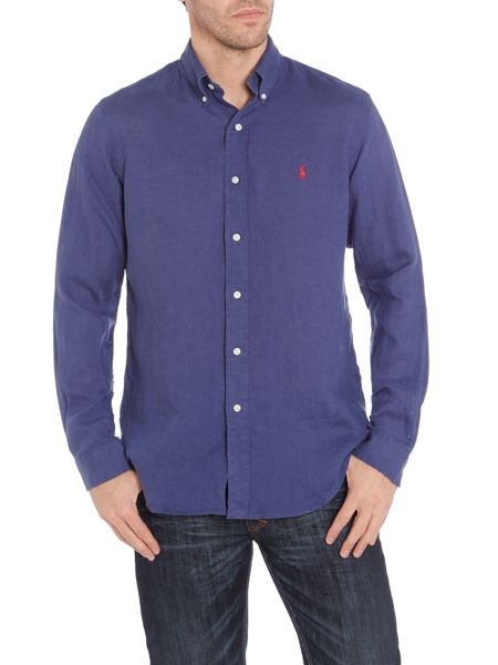 Polo Ralph Lauren Classic long sleeve custom fit linen shirt