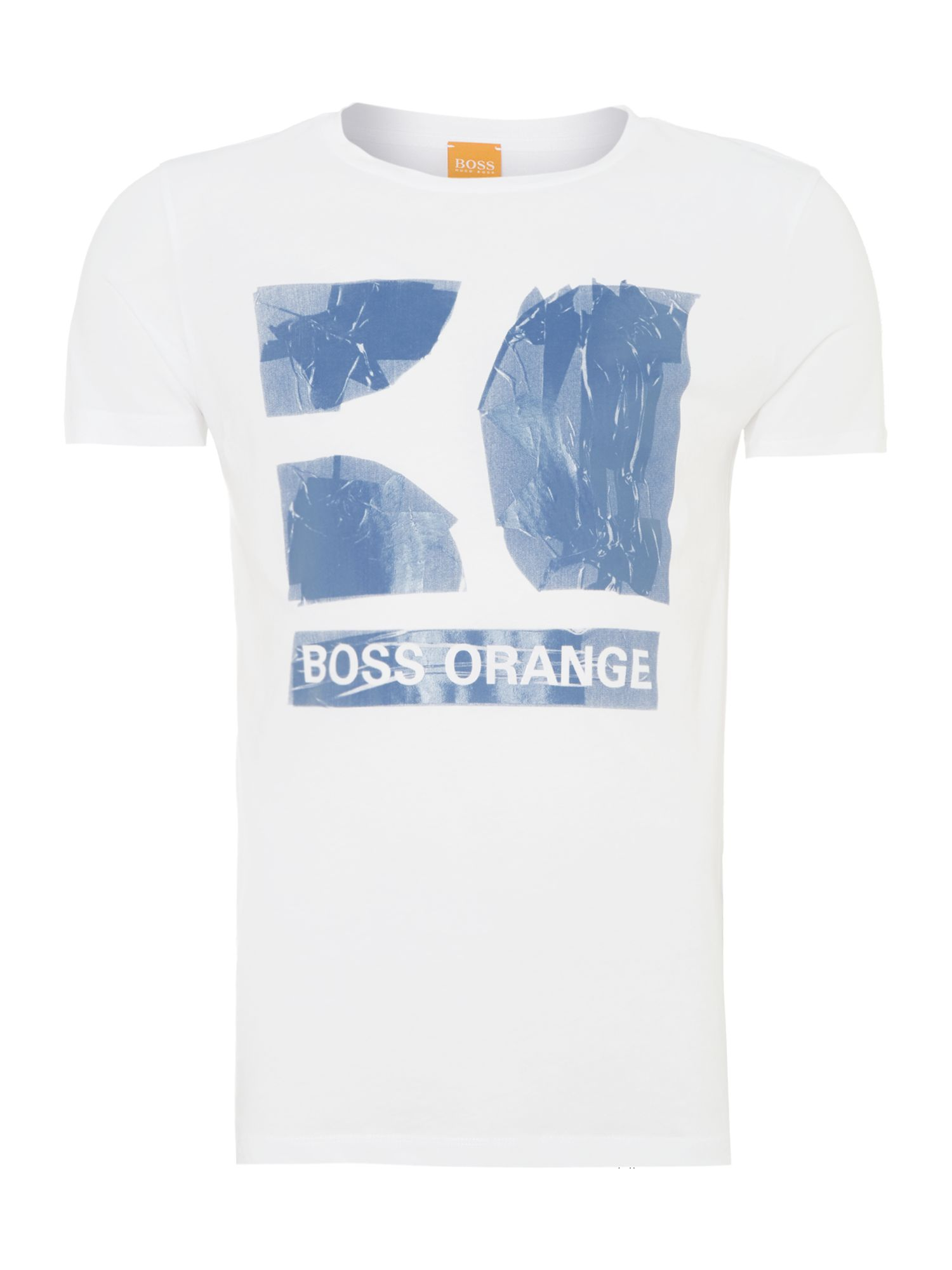 Boss orange logo print t-shirt