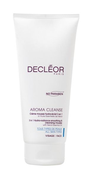 Decléor Hydra Radiance Smoothing & Cleansing Mousse 200ml