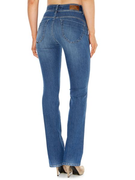 Salsa Secret Push-In bootcut jeans in Mid Wash