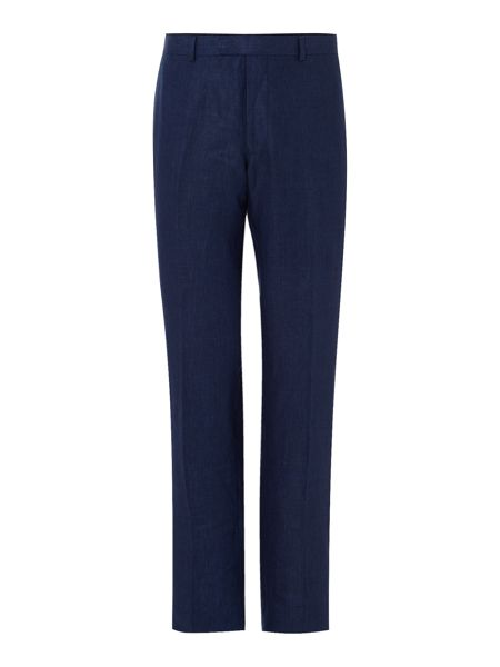 New & Lingwood Newland Linen Suit Trousers