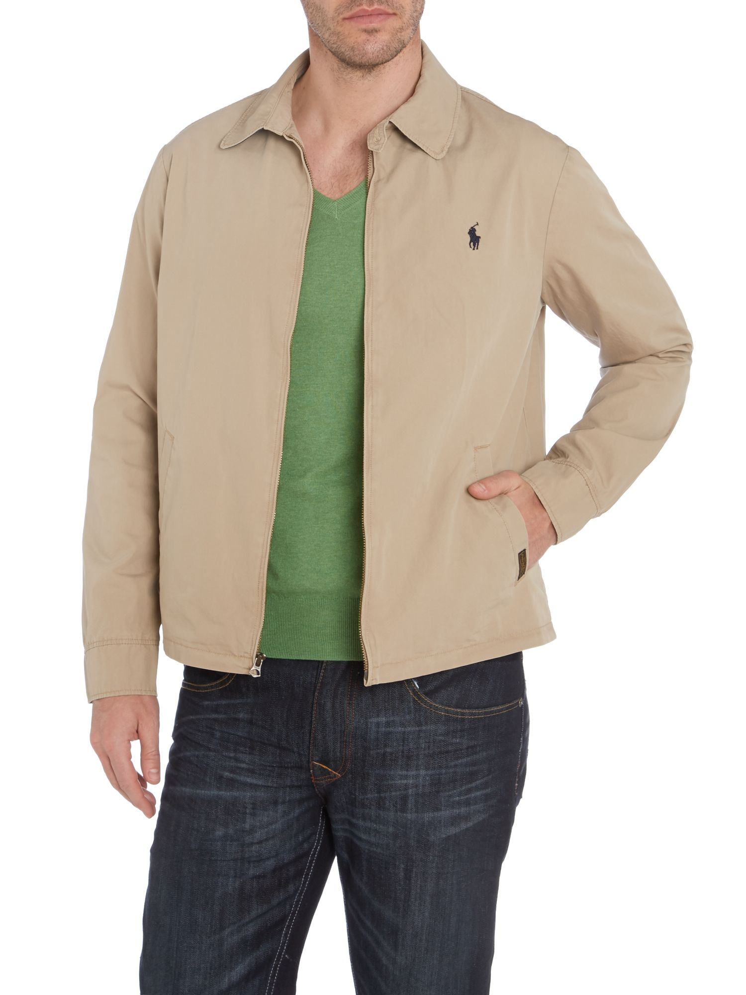 Classic landon windbreaker jacket