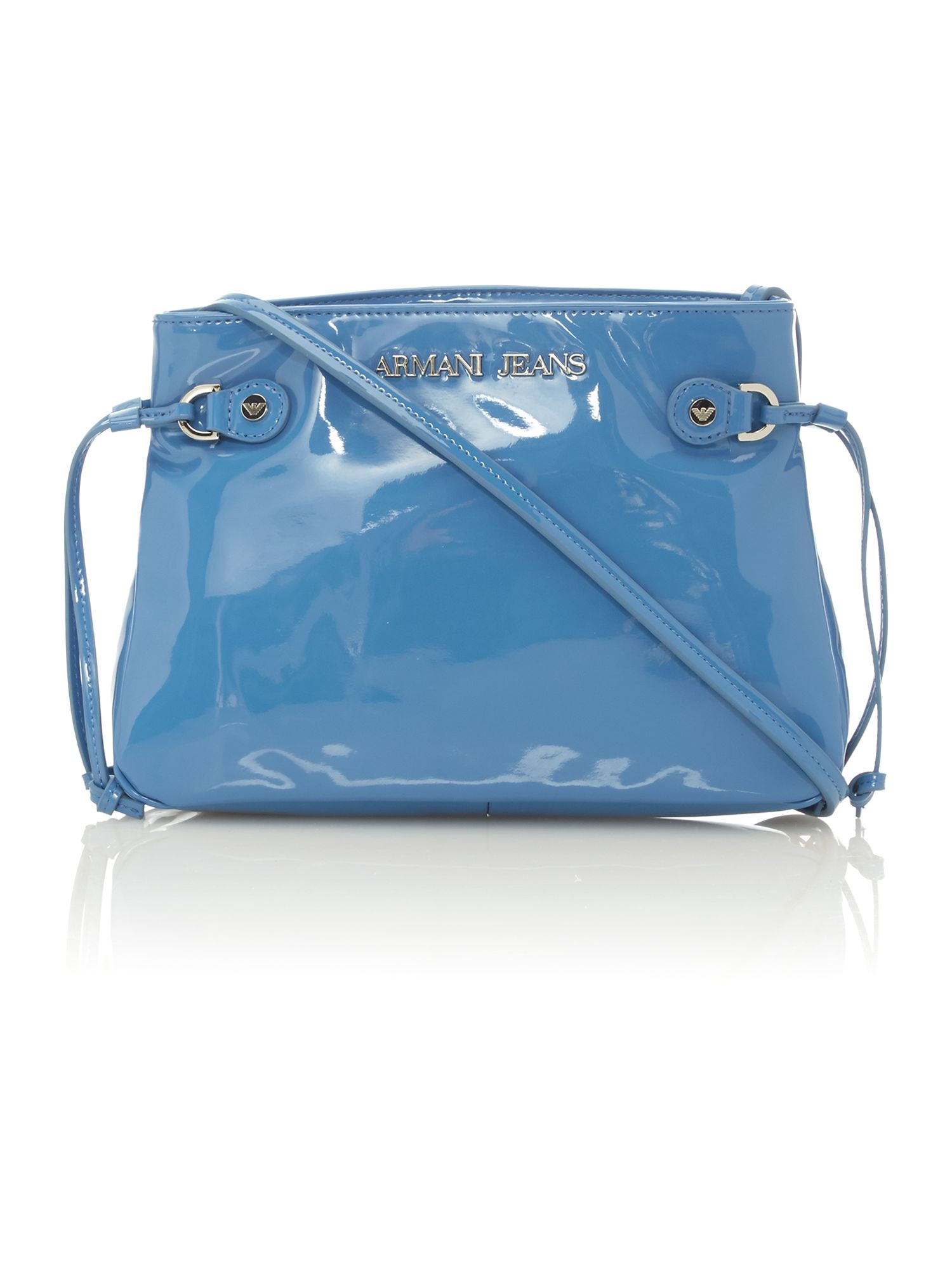 Blue small cross body bag