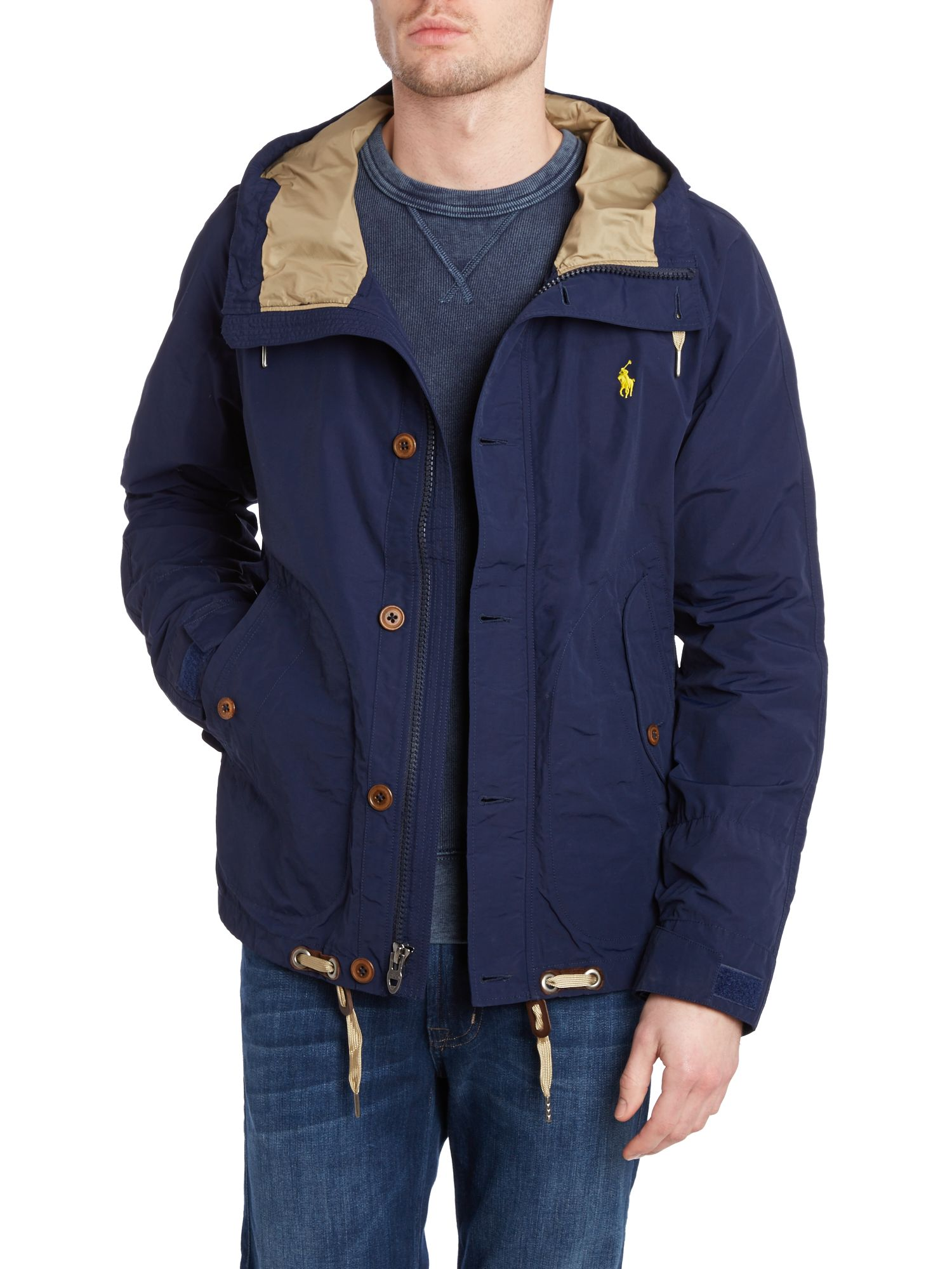 Treeline hooded anorak