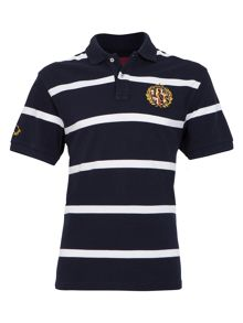 Raging Bull Big And Tall Rb Emblem Polo Navy