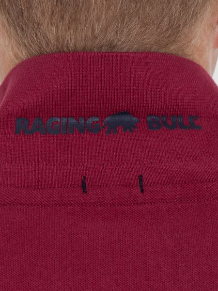 Raging Bull Big And Tall Signature Pique Polo Claret