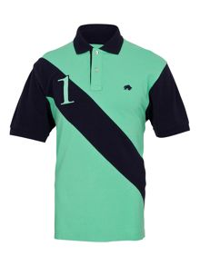 Raging Bull Big And Tall No1 Diag Stripe Polo