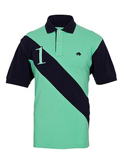 Big And Tall No1 Diag Stripe Polo