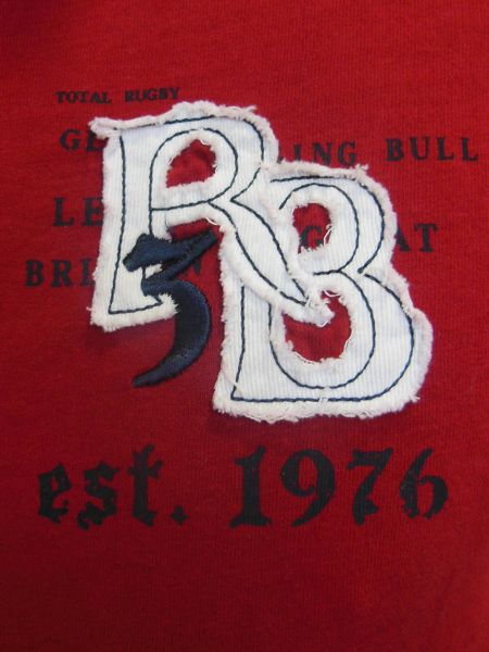 Raging Bull Big And Tall Rb Applique Polo
