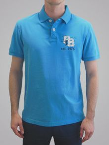 Big And Tall Applique Polo