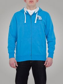 Big and tall rb appl zip hoody