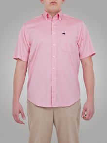 Raging Bull Big And Tall S/S Oxford Shirt