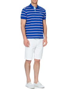 Portland Stripe Short Sleeve Polo