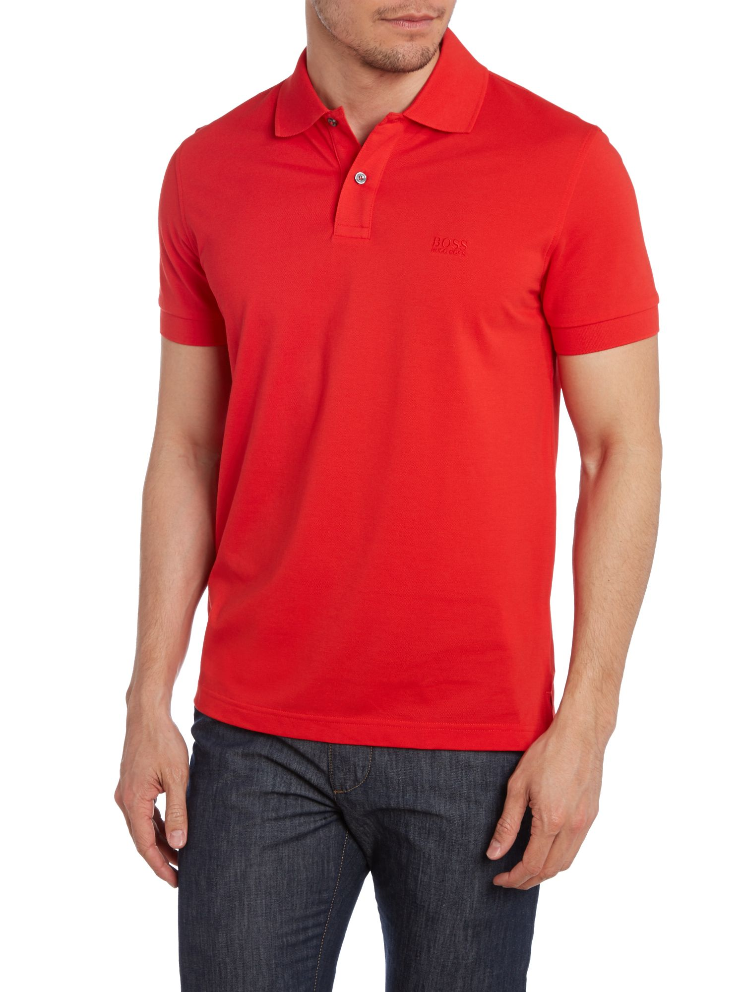 Short sleeve firenze logo polo shirt