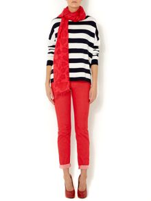 Nautical striped jumper