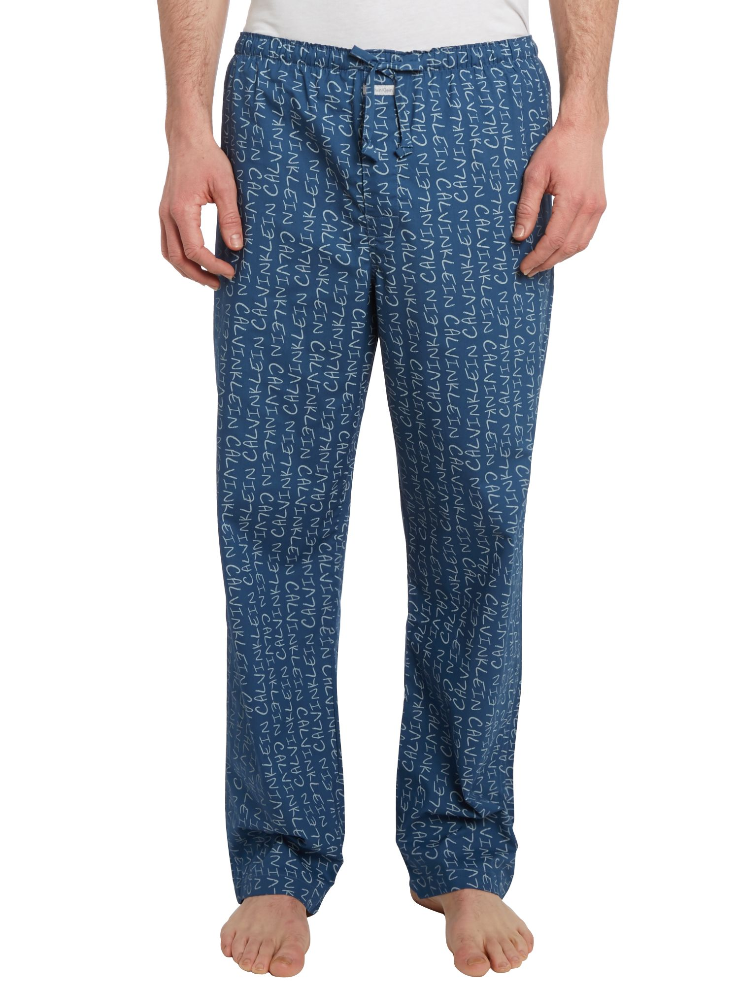 Stripe nightwear pant