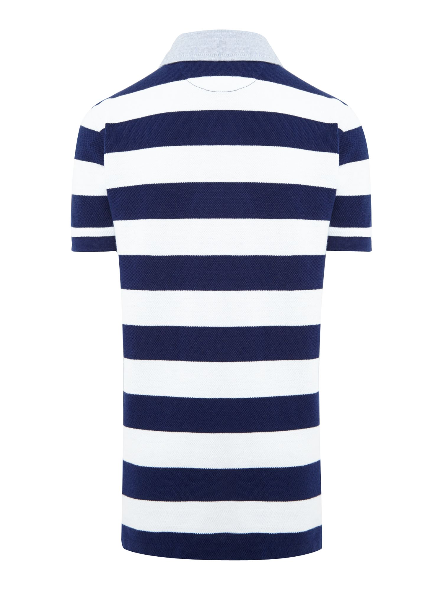 Boy`s block stripe rugby shirt