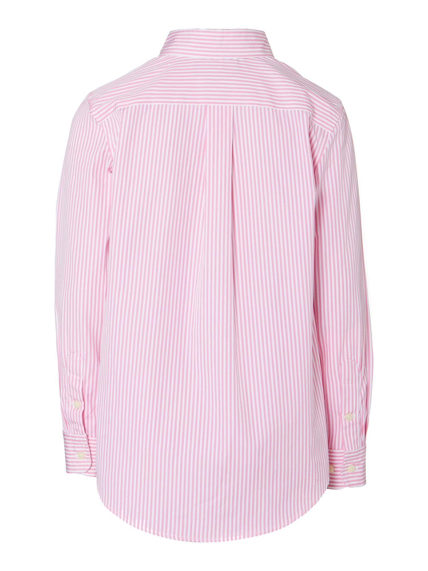 Boy`s candy stripe shirt