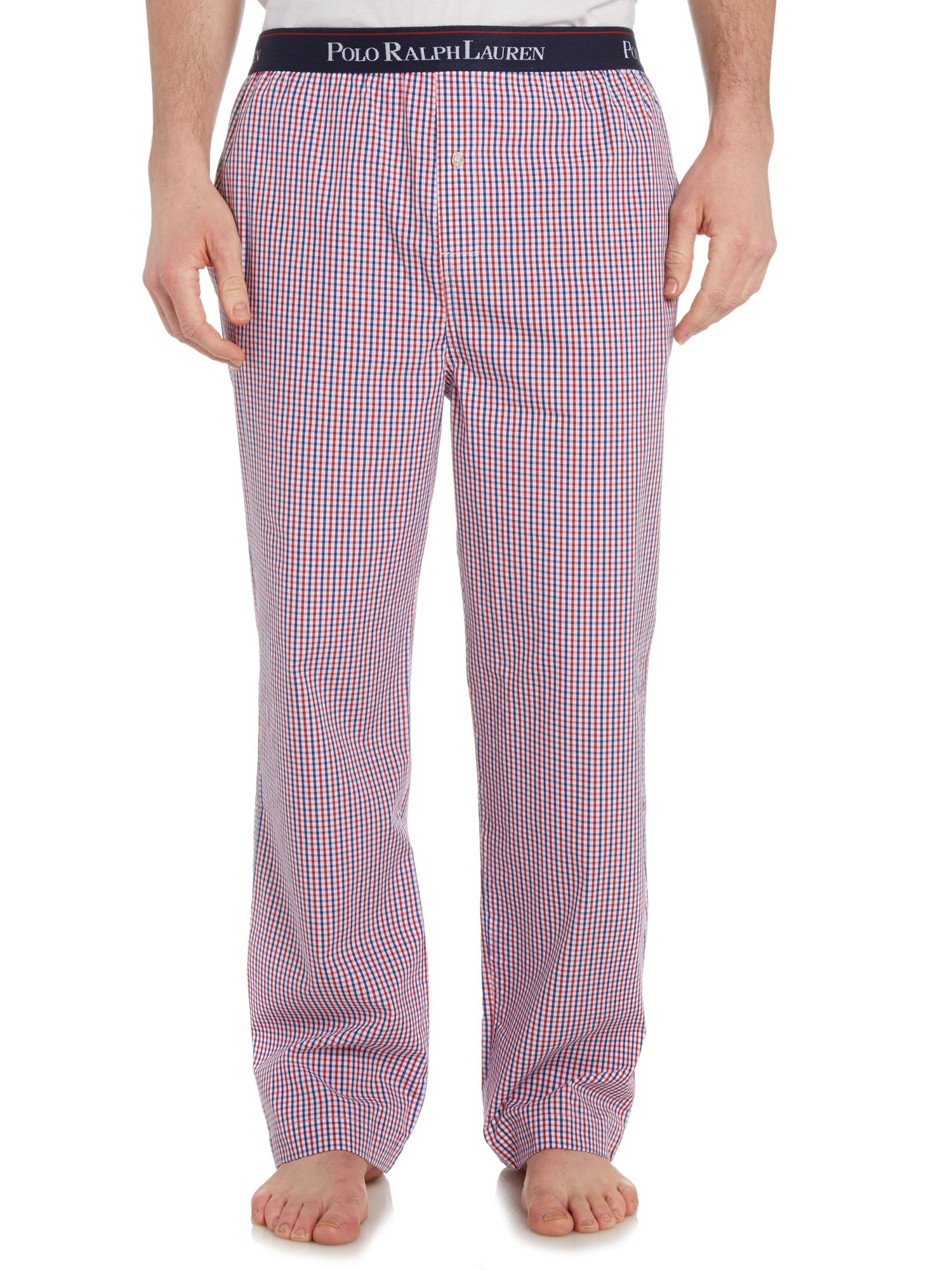 Plaid nightwear pant