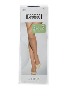 Wolford 15 denier sheer knee high promotional pack