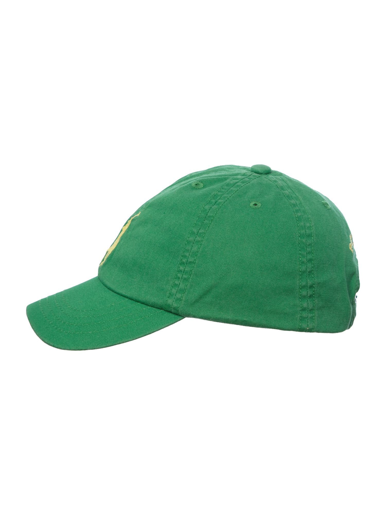 Boy`s large logo cap