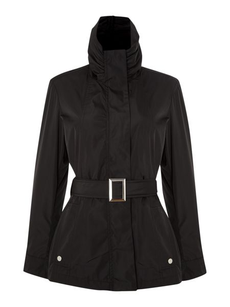Episode Belted Jacket With Long Sleeve And A Hood