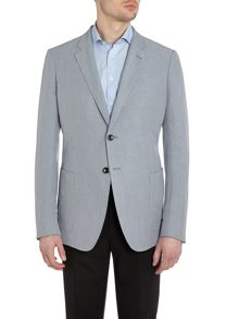 Patch pocket regular fit jacket