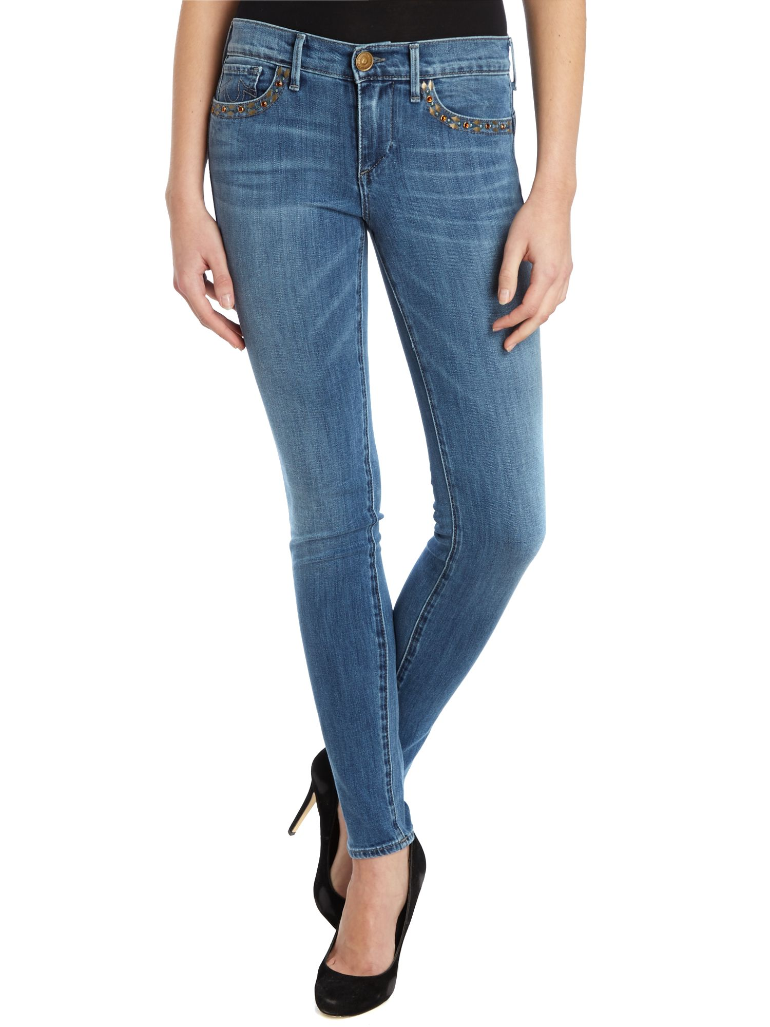 Chrissy skinny jeans in soft footprint