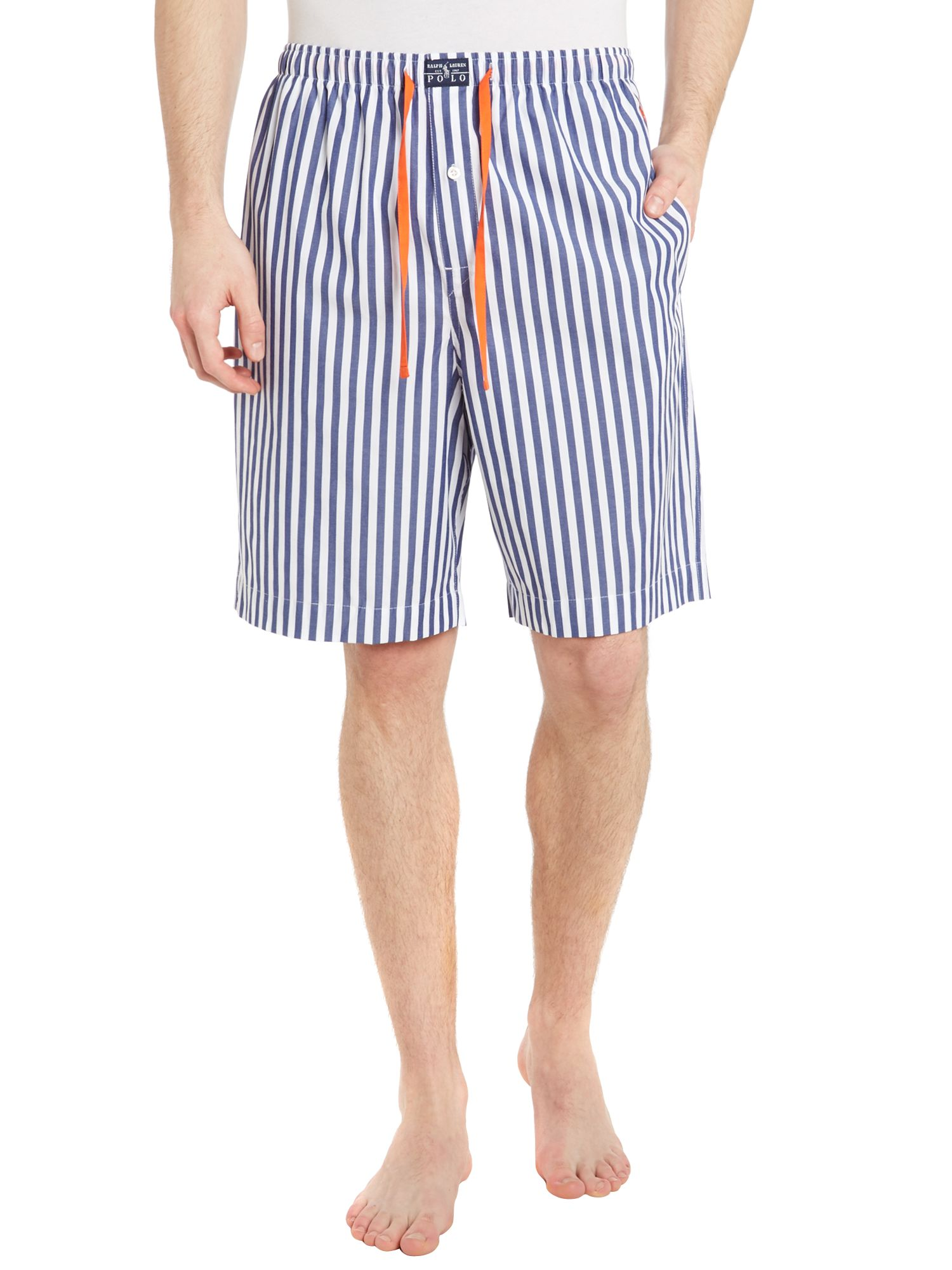 Stripe nightwear short