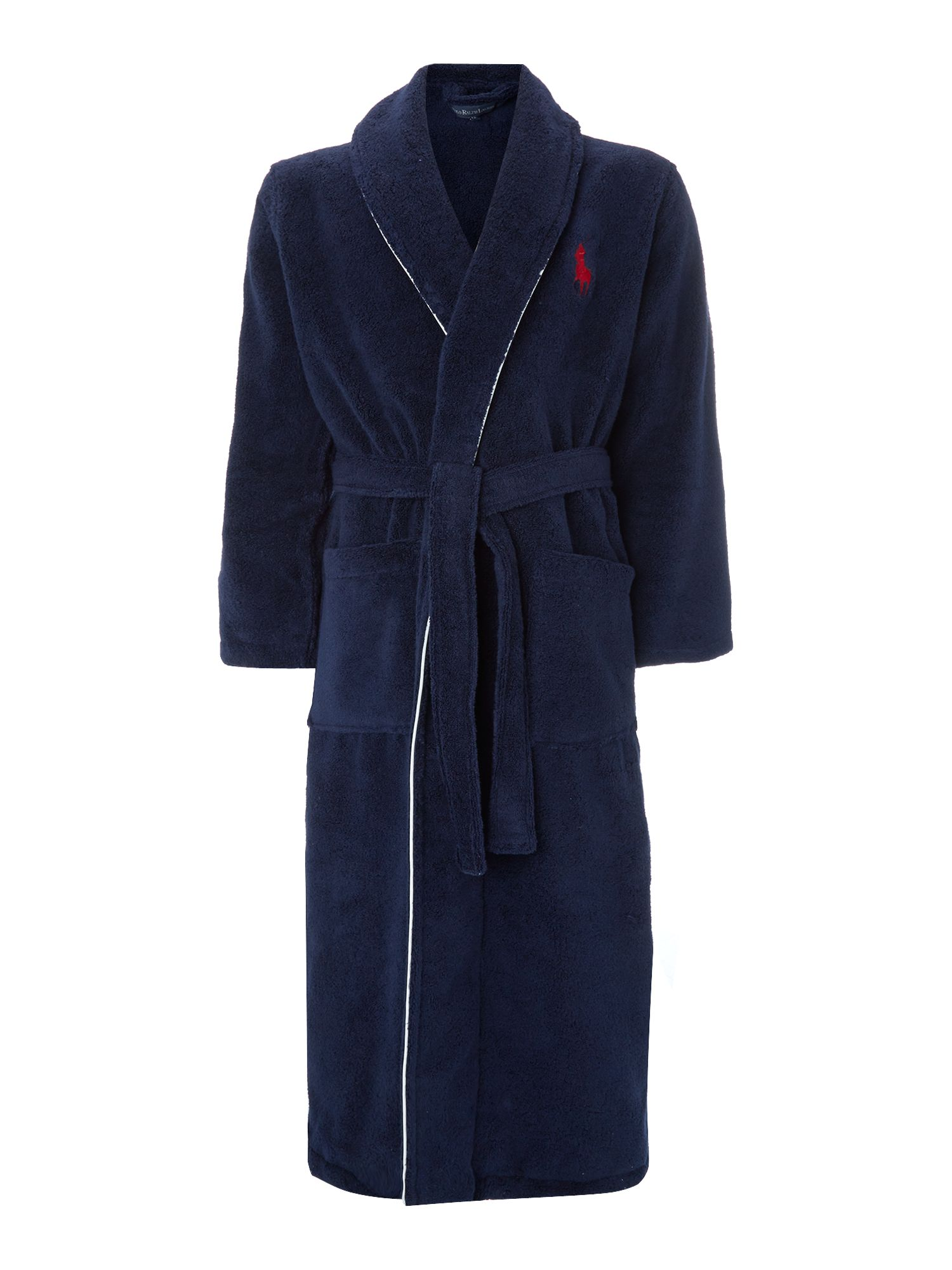 Logo nightwear robe
