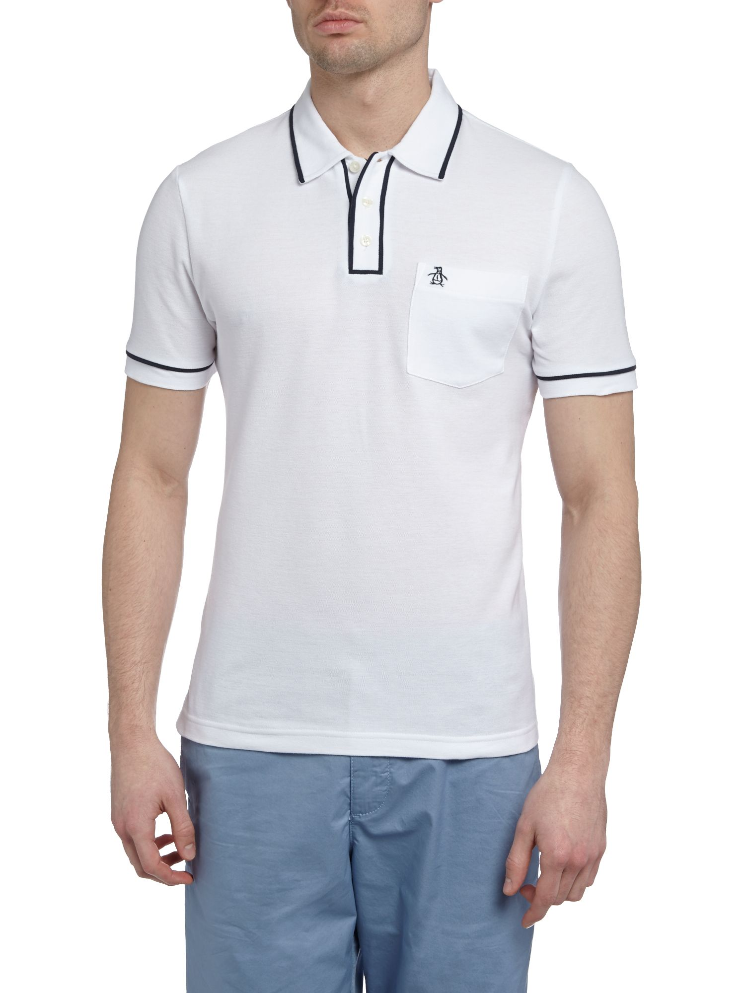 Short sleeve earl polo